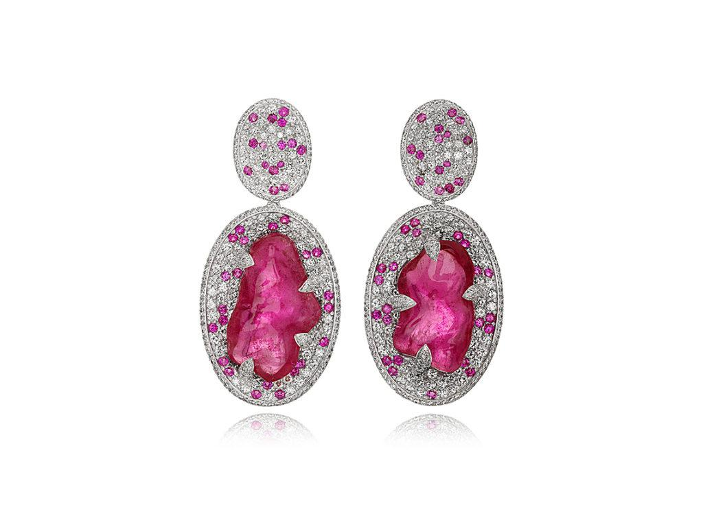 pink-tourmaline-earrings-one-of-a-kind-earrings-high-end-jewelry-luxury-jewelry-hammerman-jewels-nyc