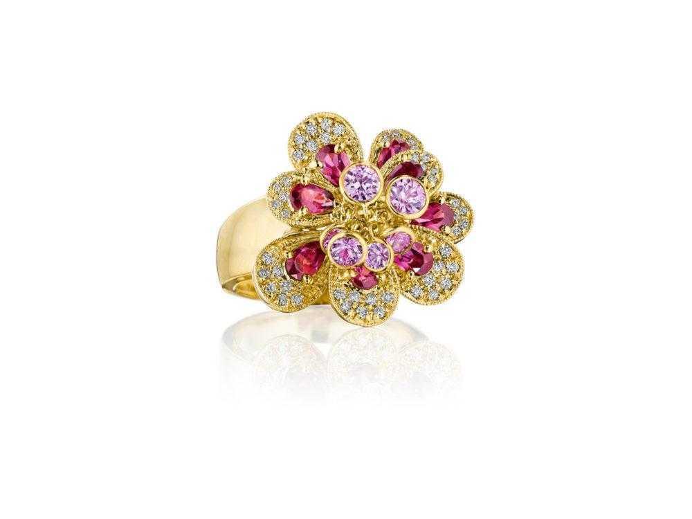pink-sapphire-flower-ring-high-end-jewelry-luxury-jewelry-hammerman-jewels