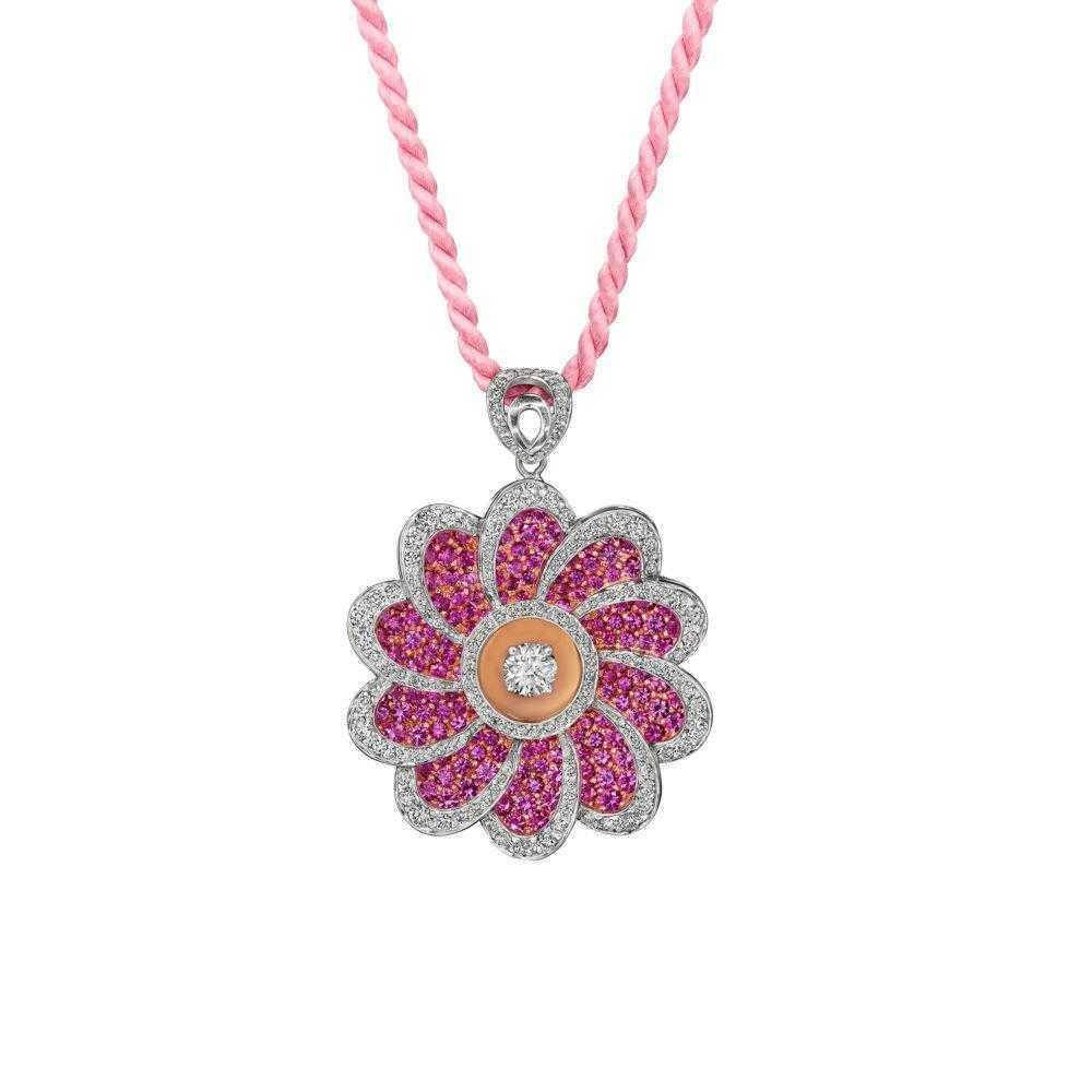 pink-sapphire-flower-necklace-high-end-jewelry-luxury-jewelry-hammerman-jewels