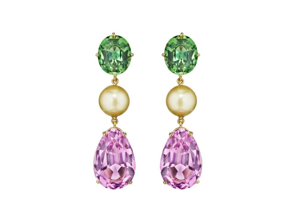 kunzite-peridot-pearl-earrings-high-end-jewelry-luxury-jewelry-hammerman-jewels