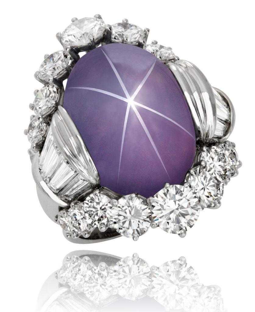 Star Sapphire Ring Hammerman Jewels