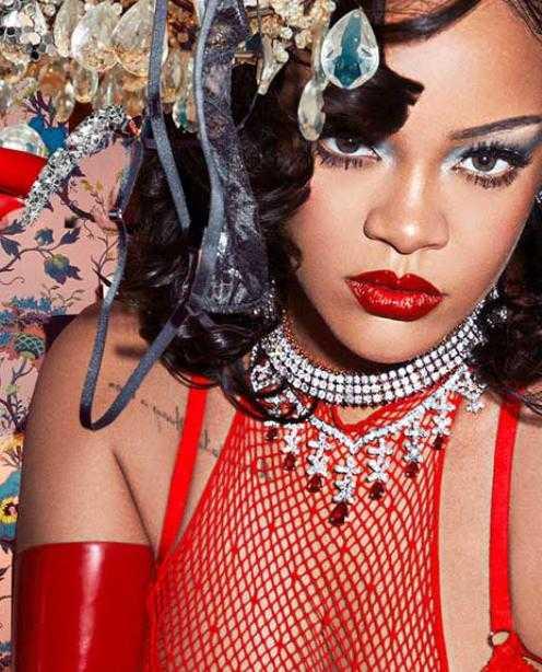 Rihanna Hammerman Jewels Rubies Savage X Fenty